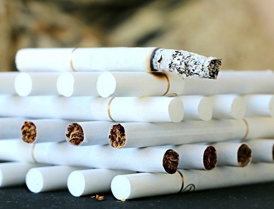 Foto stoppen met roken