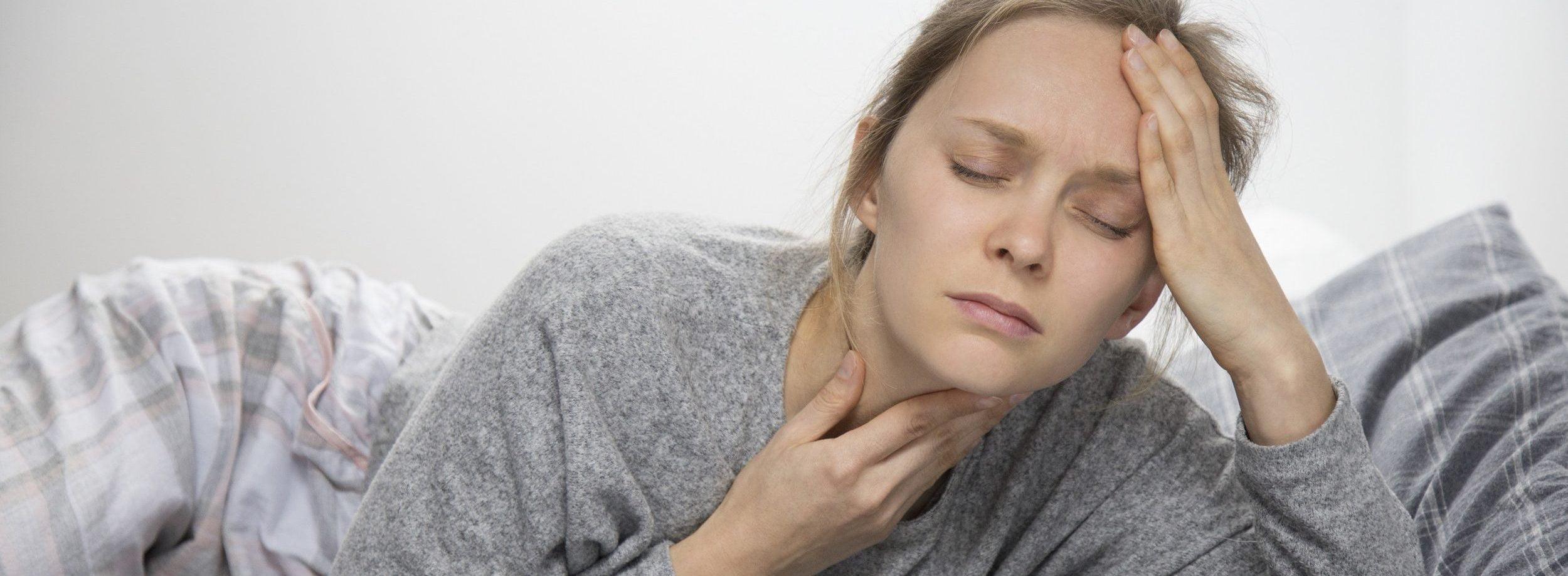 keelpijn acupunctuur