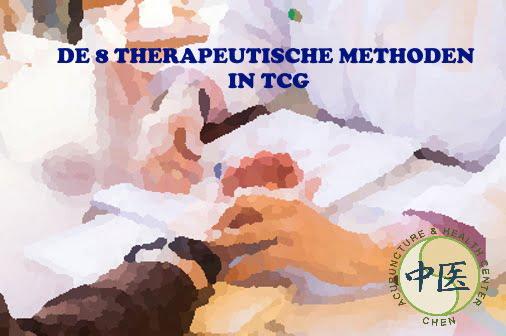 De 8 therapeutische methoden in TCM